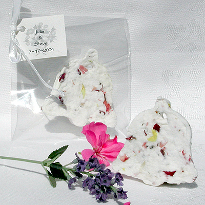 Garden Party Favors Coupled With These Symbolic Wedding Bells For